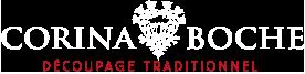 Découpage traditionnel par Corina Boche Logo